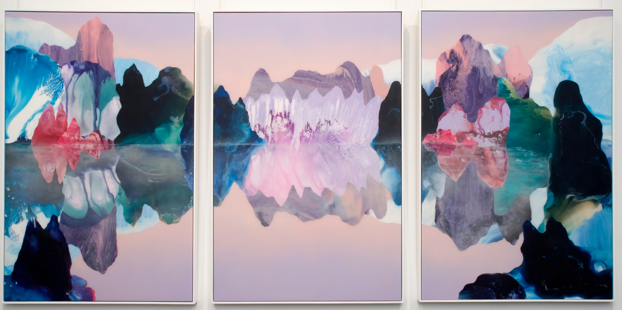 Kate Shaw Mirror Matter 2007 acrylic and