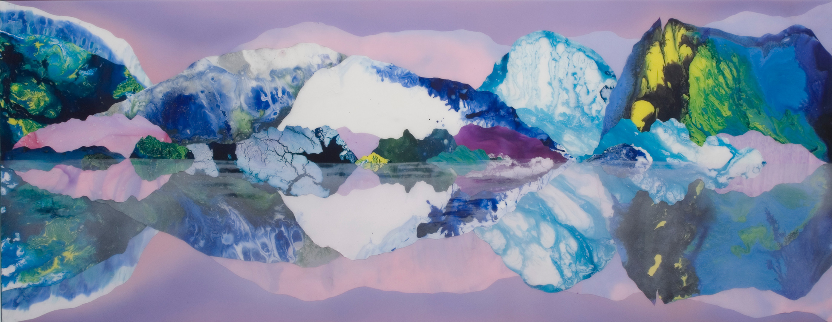 Kate Shaw Surface Tension 2007 acrylic a