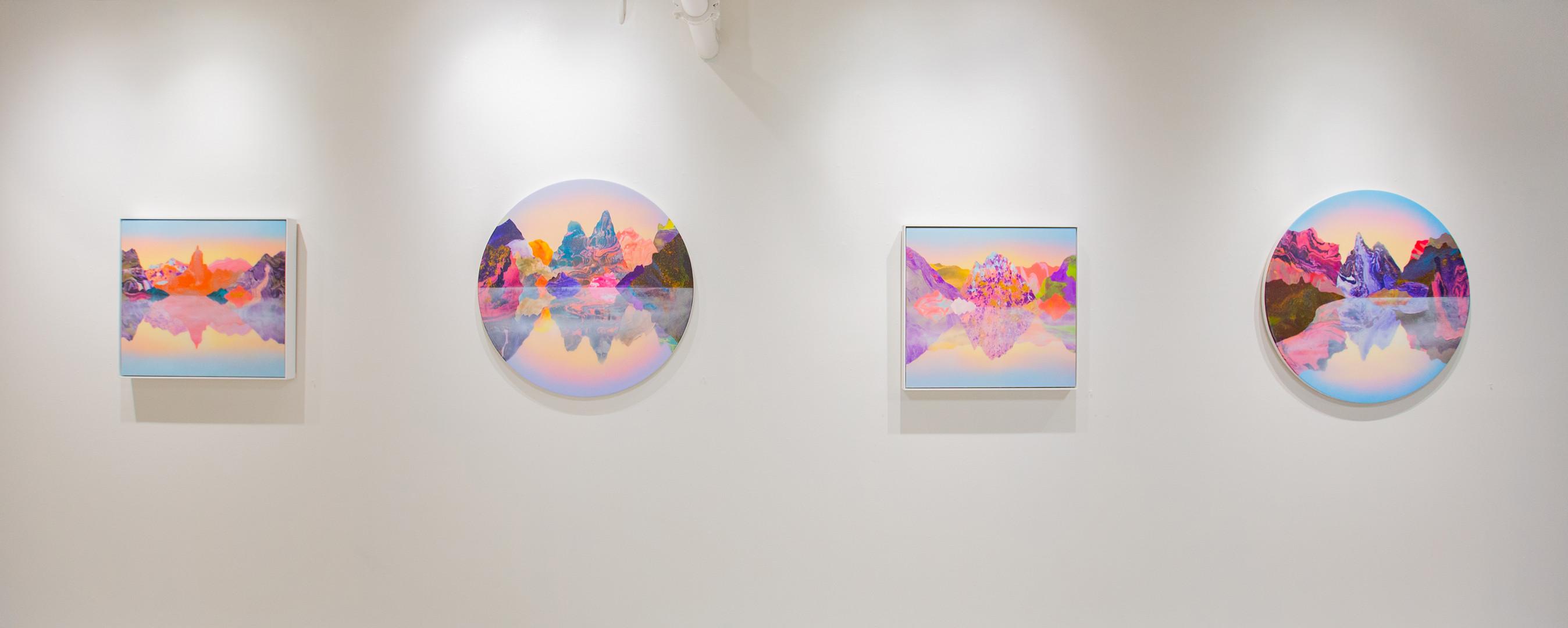 Installation view 'Shadowlands' Mirus Gallery