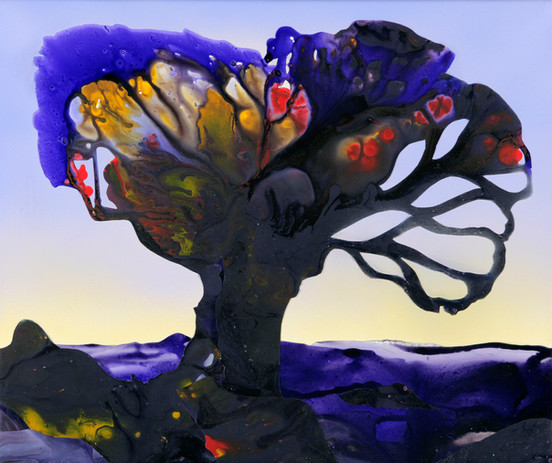 Kate Shaw Darkness Descends 2006 acrylic