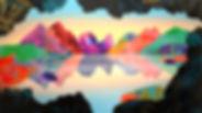 Solastalgia, web100cm x 180cm, acrylic a