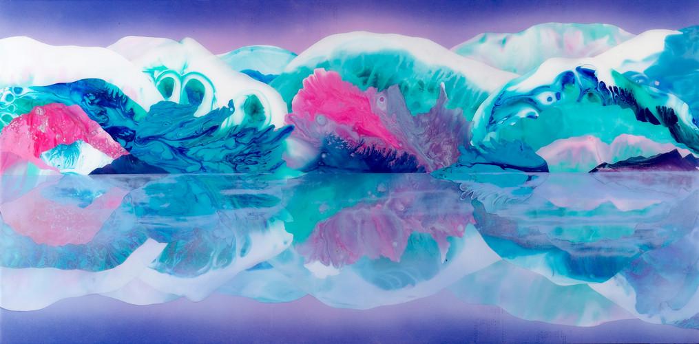 Kate Shaw Tomorrowland 2006 acrylic and