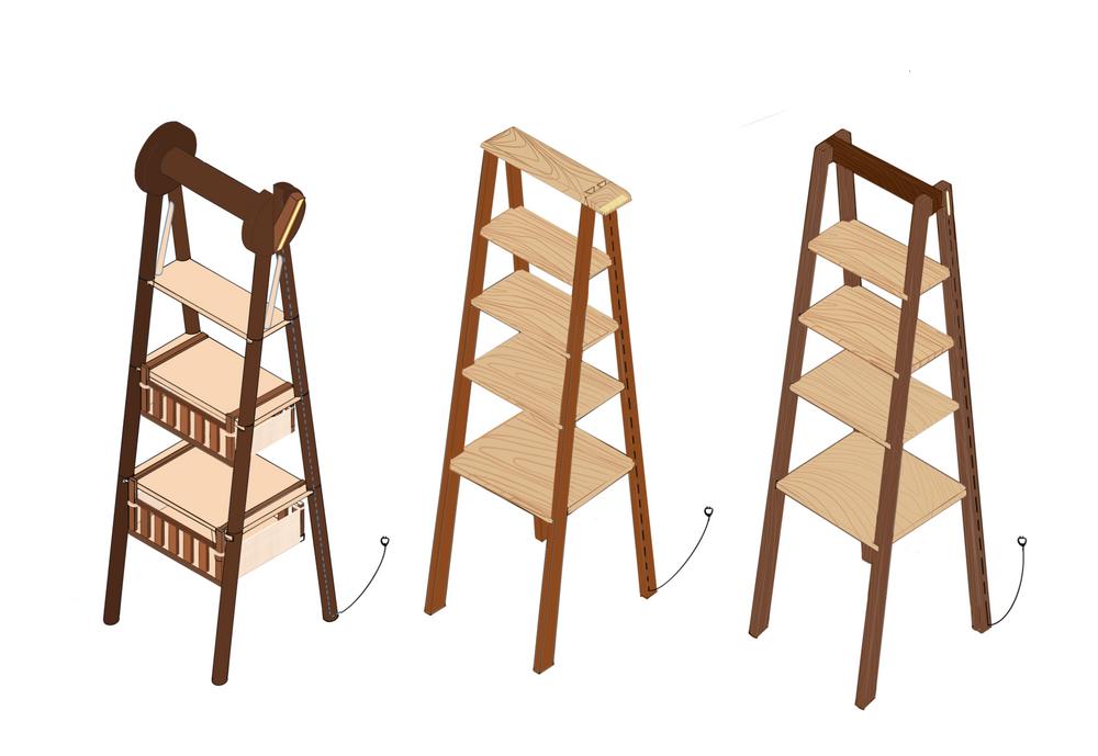 Multi-purpose shelf