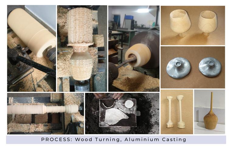 Wooden Wine Glass Process