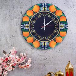 juicy-italian-oranges-wall-clock