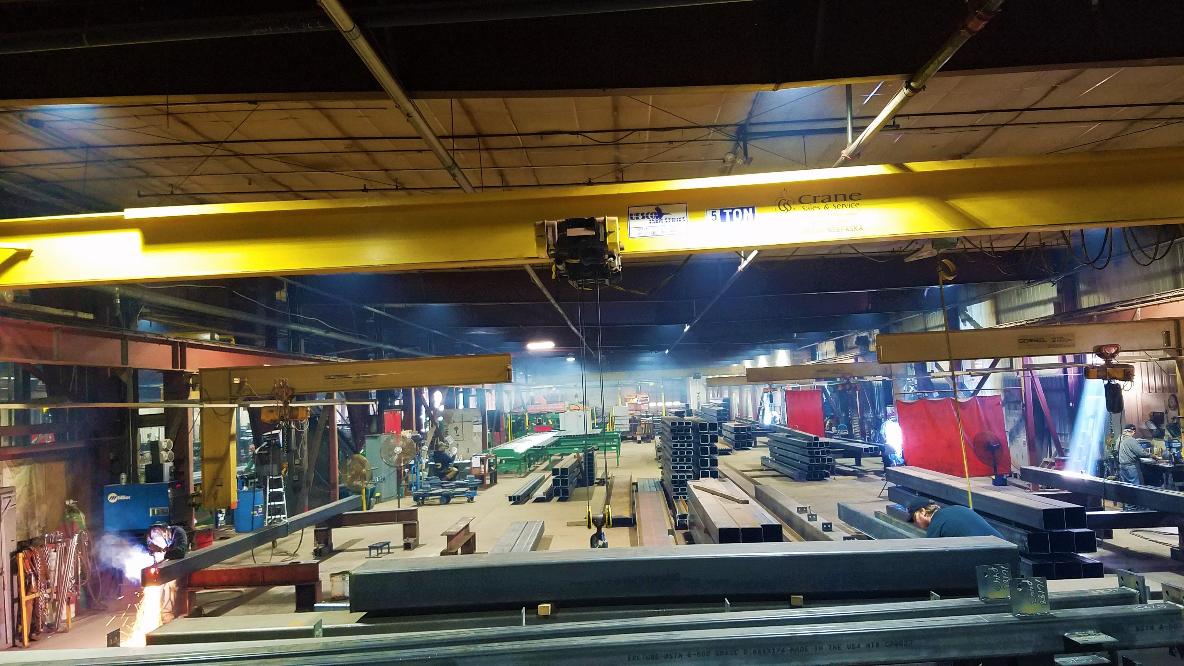 Full Length Cranes
