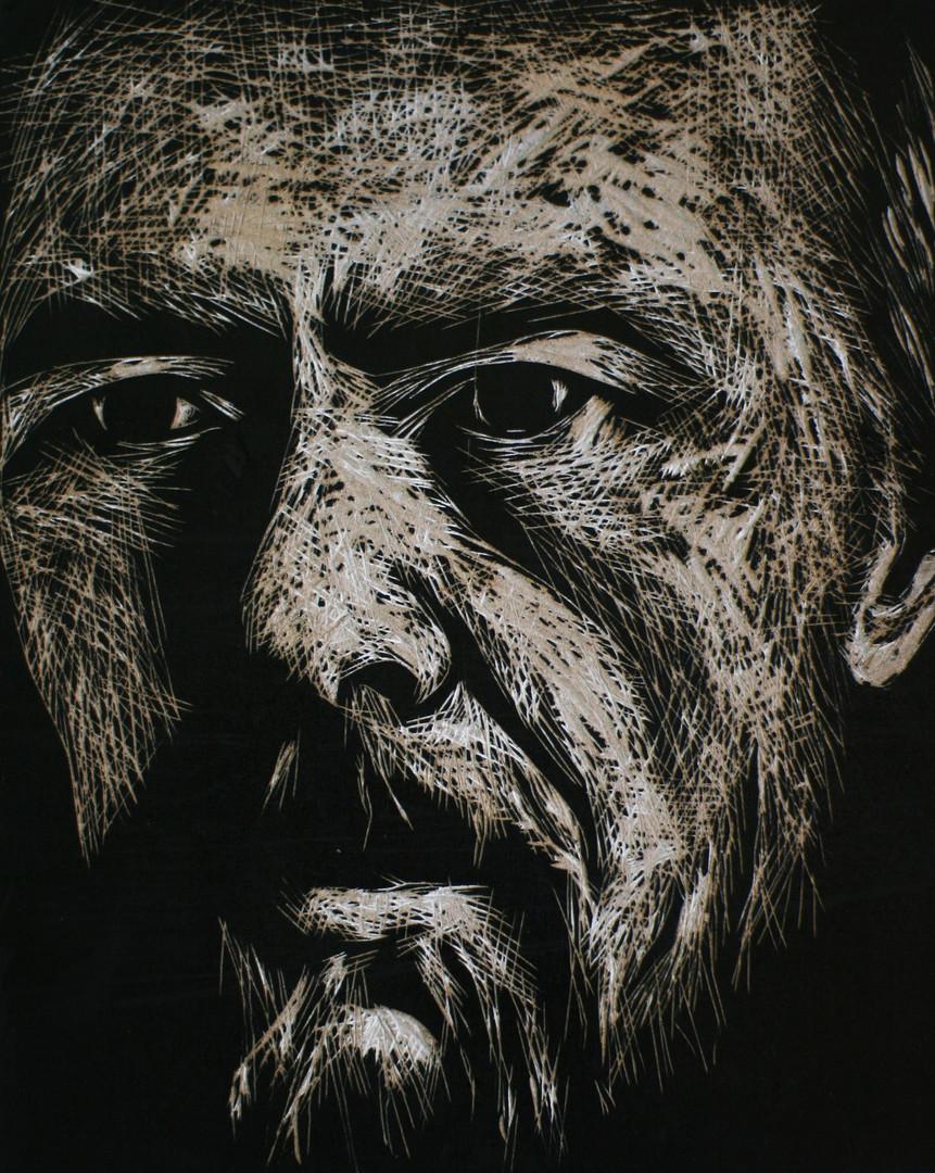 Portrait of Fedor Dostoievski