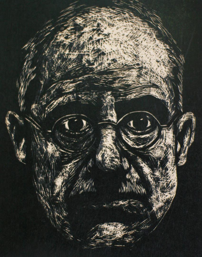 Portrait of James Ellroy