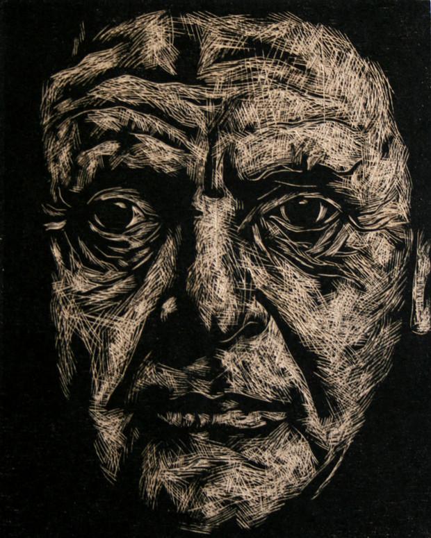 Portrait of Anthony Hopkins