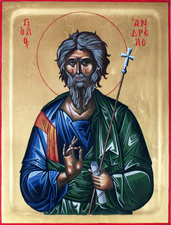 Icon of Saint Andrew