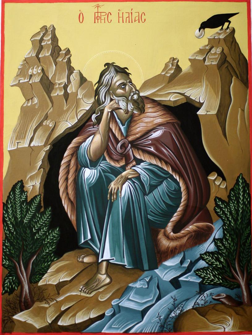 Icon of Propher Eli