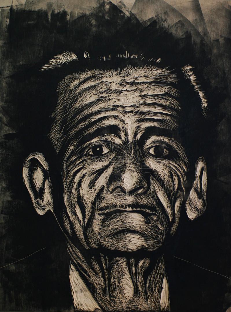 Portrait of unknown man