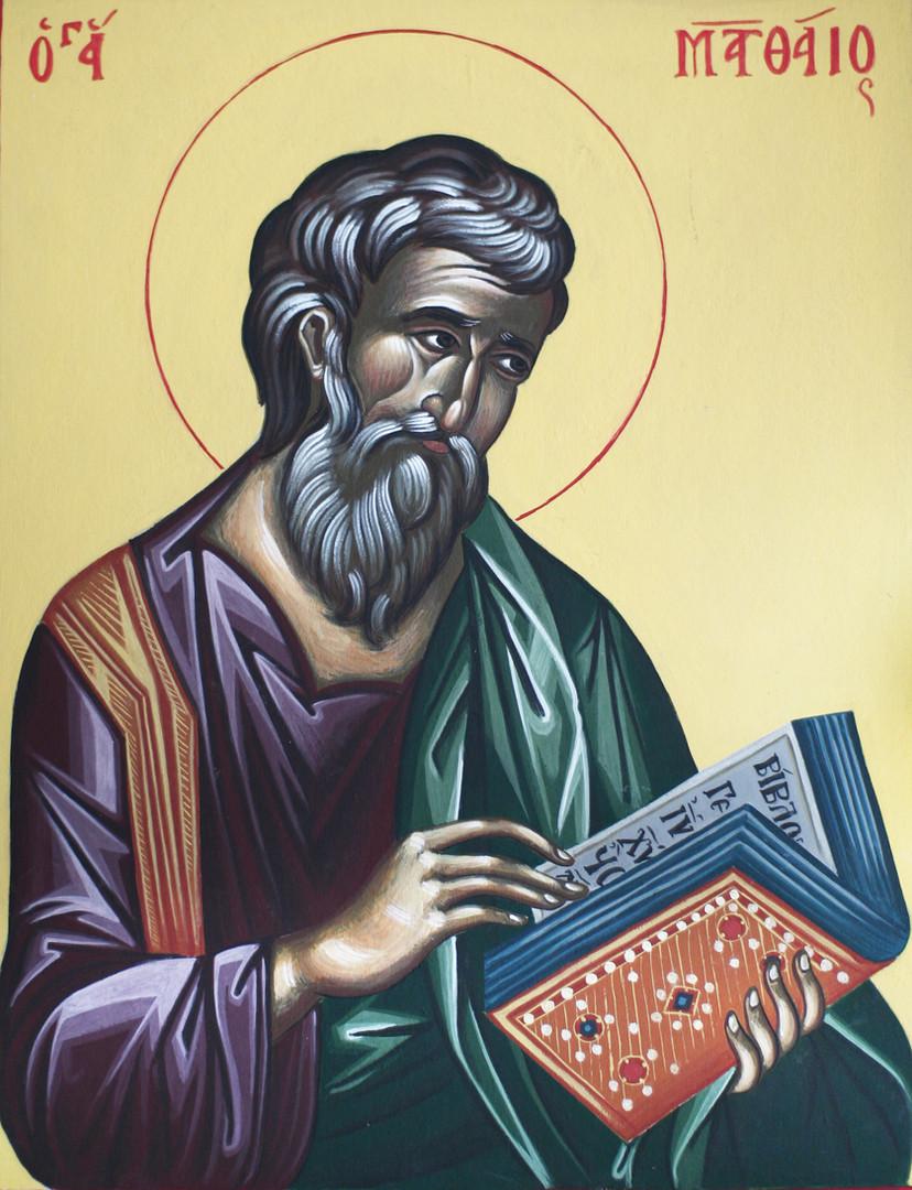 Icon of Saint Mathew