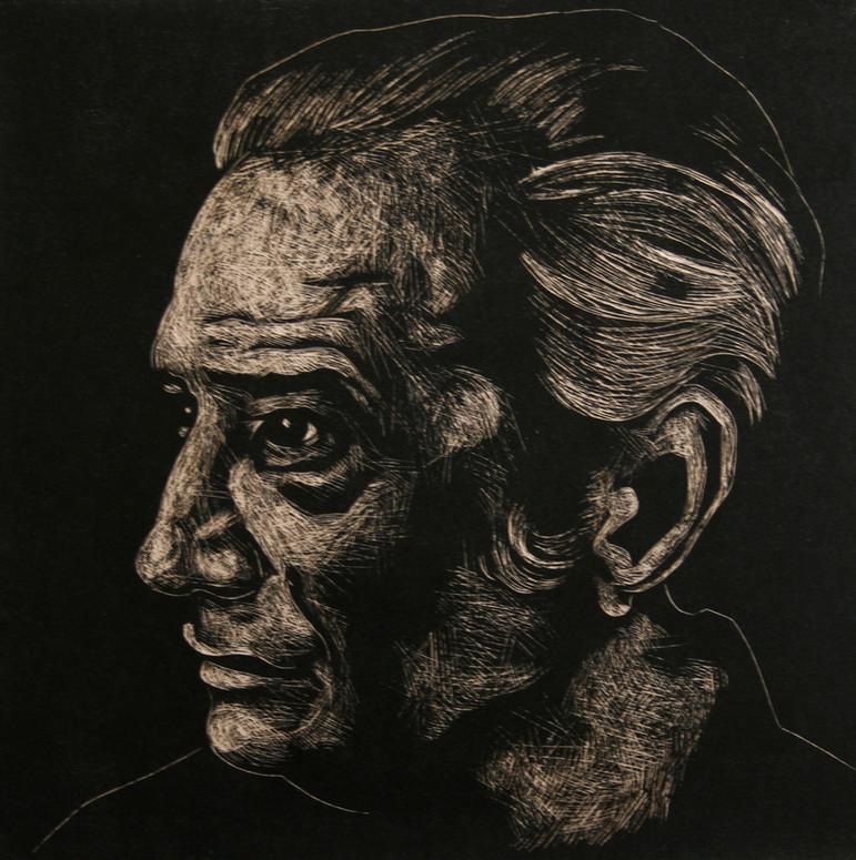 Portrait of Nicos Caruzos