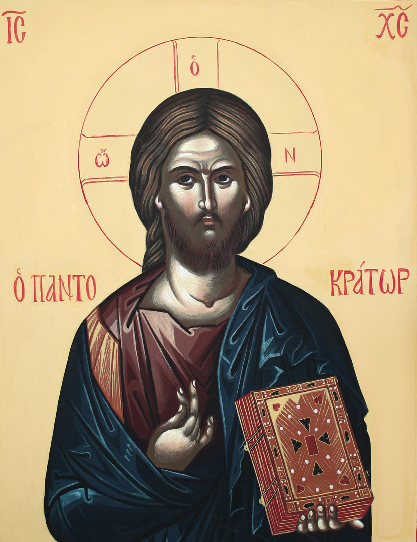 Icon of the Christ Pantokrator