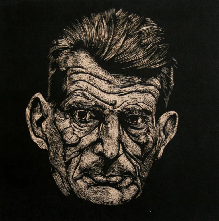 Portrait of Samuel Beckett