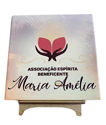 Azulejo Decorativo Maria Amélia