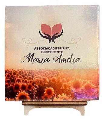 Azulejo Decorativo Maria Amélia Girassóis
