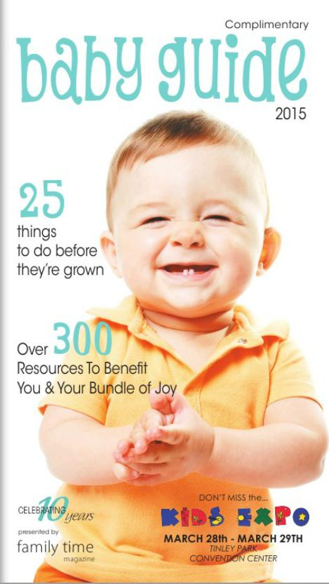 baby guide for Family Time Magazine