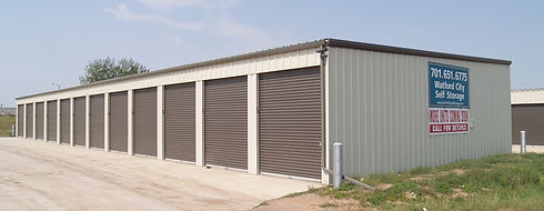 Watford City Self Storage Garages