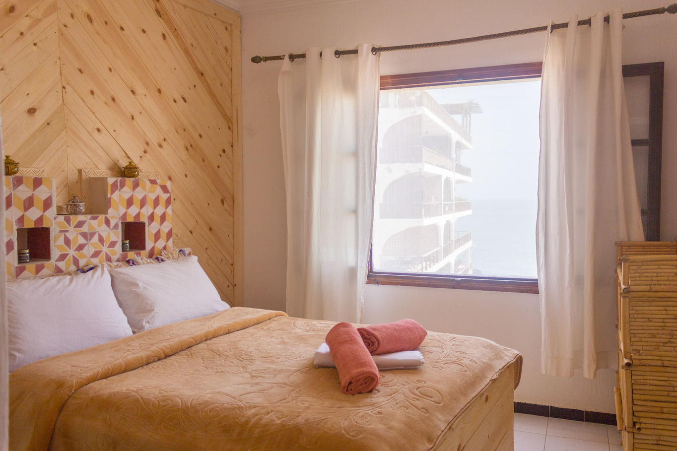Double Room Ocean View with Private Bathroom