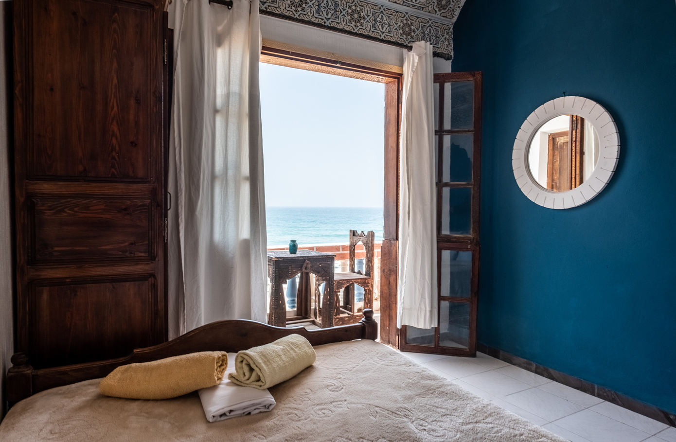 Double room Ocean View and private Balcony