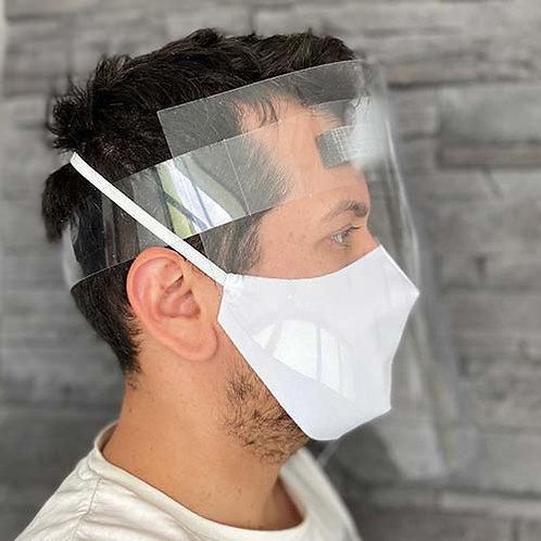 Lot de 10 - Visière de Protection Faciale