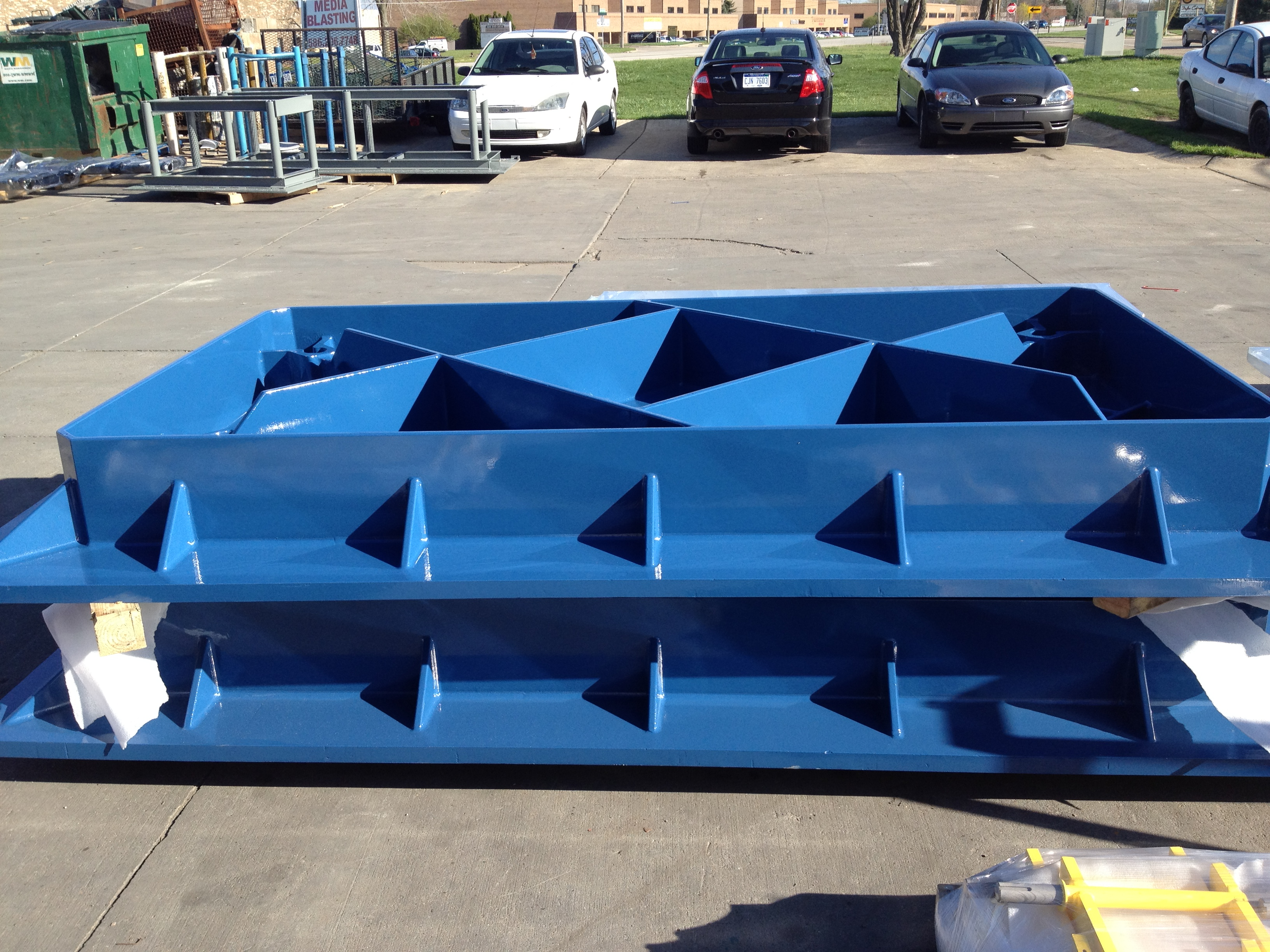 Cast Aluminum Machining Base