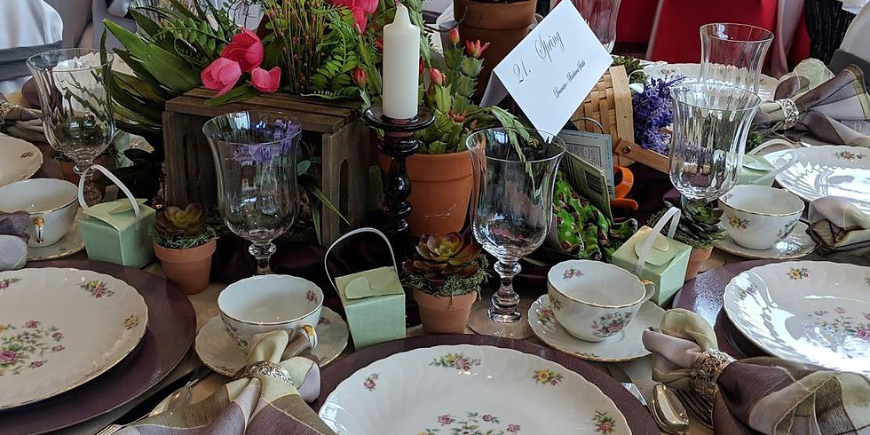 Tablescapes 2021 Presented by the King's Home Shelby Auxilary