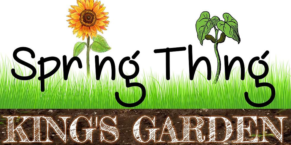 """Spring Thing"" Seedling Sale"