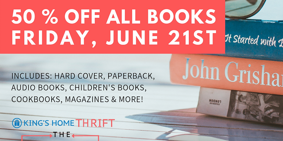 King's Home Thrift: Book Sale
