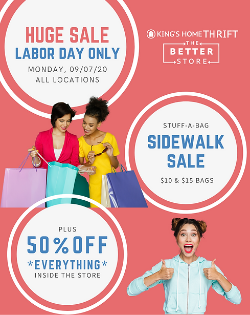 King's Home Thrift Labor Day Sale 2020.p