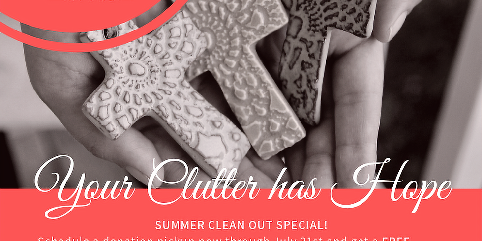 Thrift: Summer Clean Out Special
