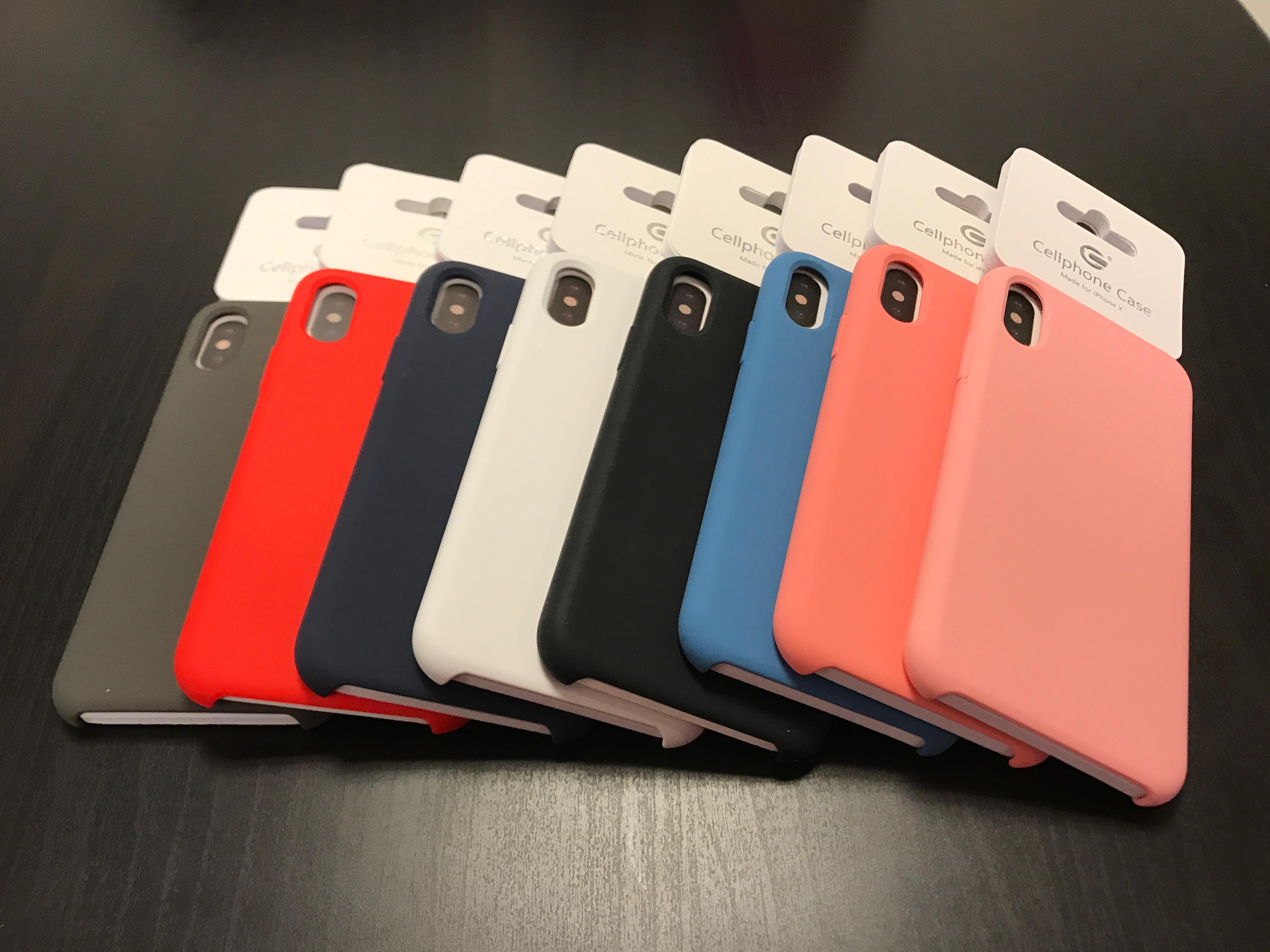 Silikonskal iPhone X 199kr