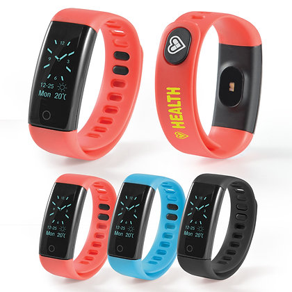 PowerFit Fitness Band with Blood Pressure Monitor