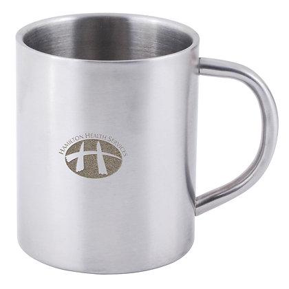 Stainless Steel Double Wall Barrel Mug