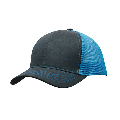 Brushed Cotton with Mesh Back Cap