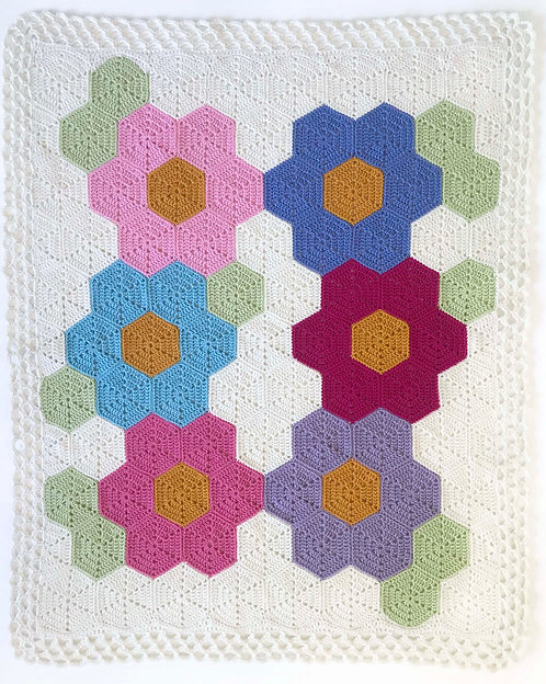 Hexagon Baby Blanket Pattern