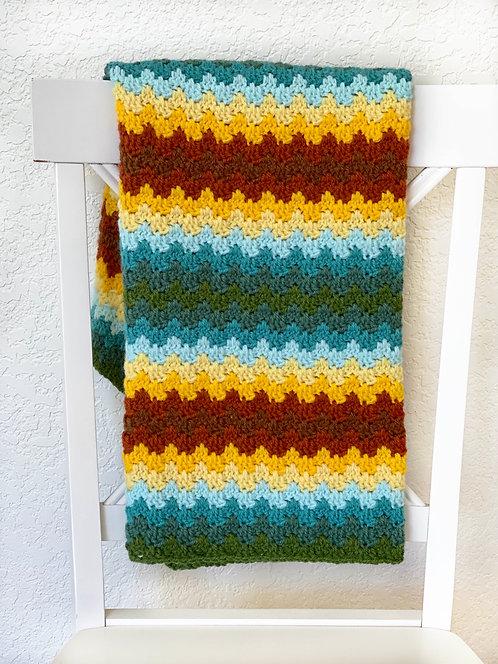 Prairie Baby Blanket - Version 1