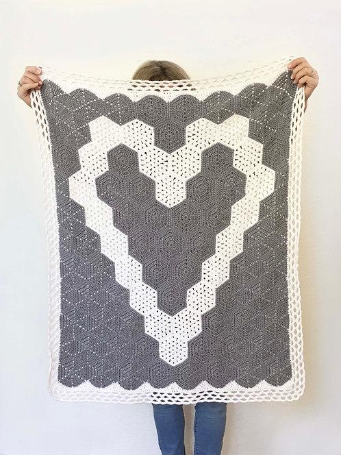 Hexagon Baby Blanket Pattern