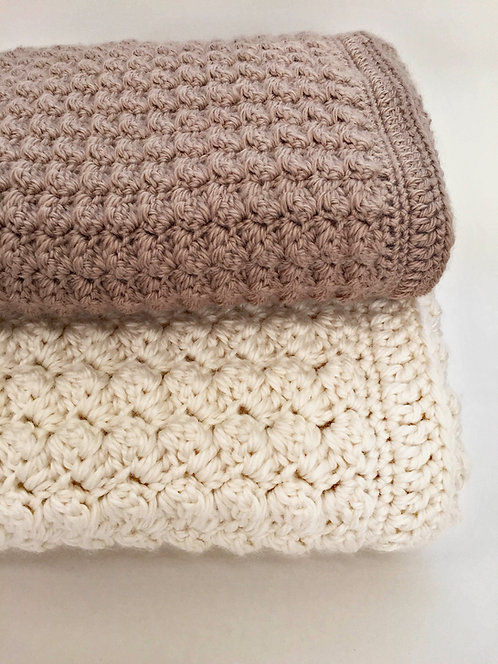 Chunky Baby Blanket Pattern