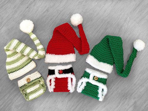 Santa and Elf Baby Pattern