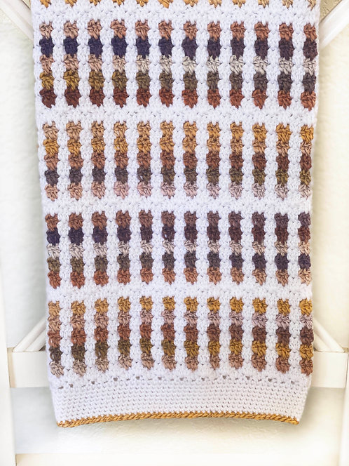 Prairie Baby Blanket - Version 3