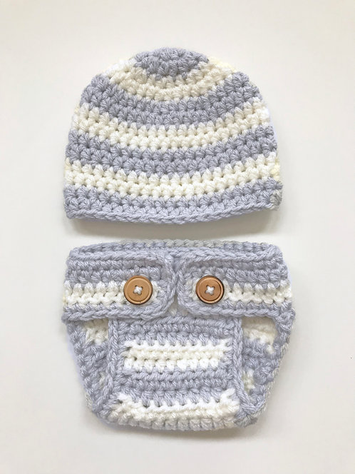 Baby Diaper Cover and Beanie Pattern
