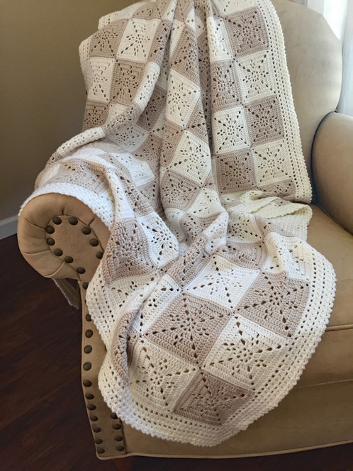 Arielles Square Blanket Pattern