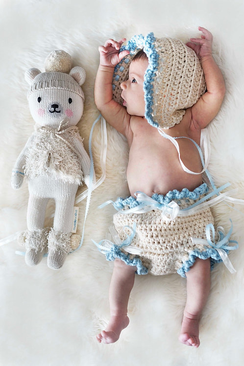Baby Bonnet and Bloomers Pattern