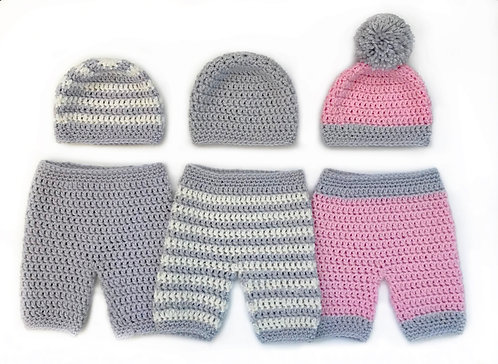 Baby Basics - Pants, Overalls and Beanie Pattern