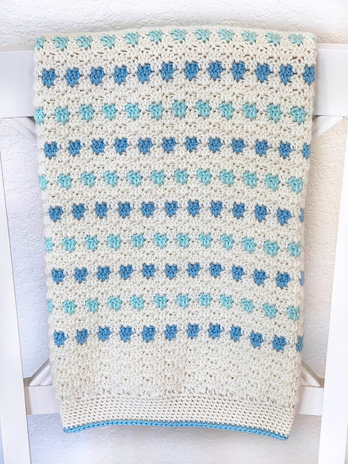 Prairie Baby Blanket - Version 2