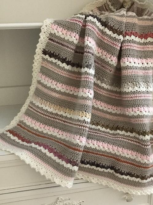 Aspen Baby Blanket Pattern