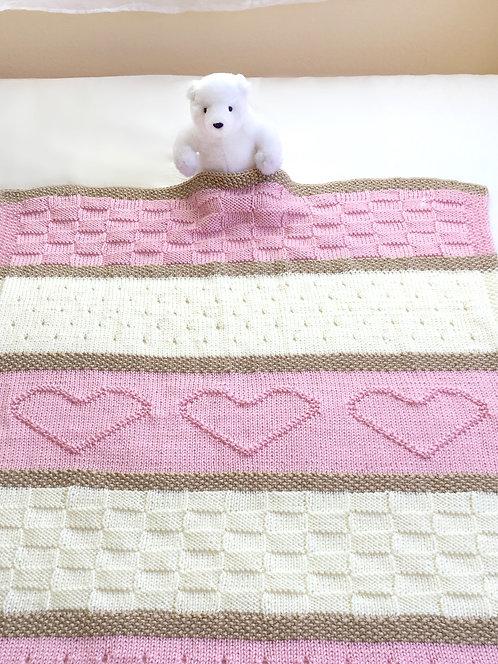 Heart Blanket Pattern